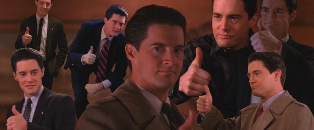 agent cooper twin peaks