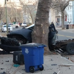 new haven car crash